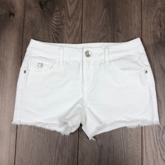 Justice Other - White Justice Girls Jean Shorts
